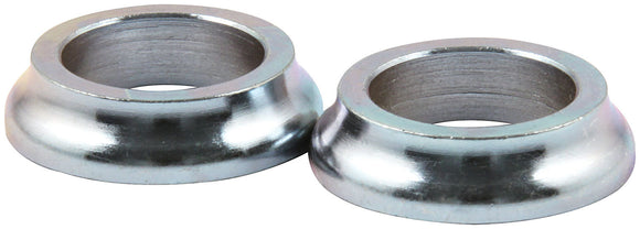 Tapered Spacers Steel 5/8in ID x 1/4in Long