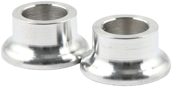Tapered Spacers Alum 1/2in ID x 1/2in Long