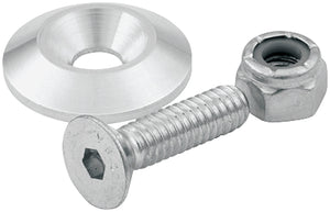 Countersunk Bolts 1/4in w/ 1in Washer 10pk