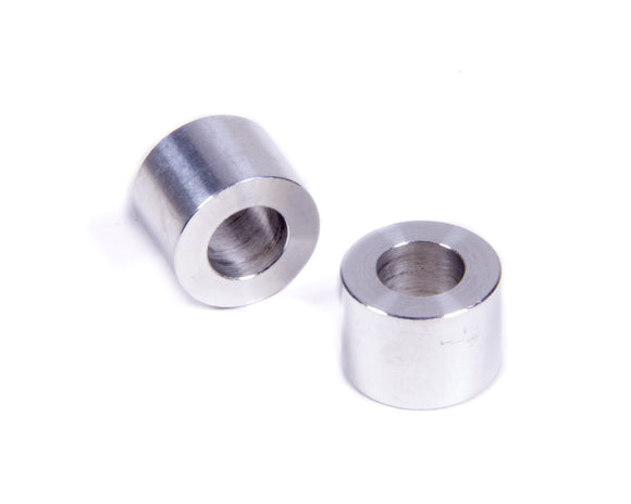 Flat Spacers Alum 1/2in Thick 3/8in ID 11/16inOD