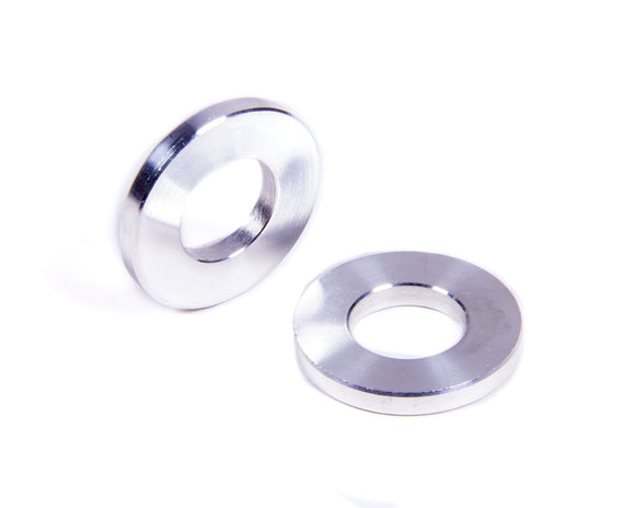 Flat Spacers Alum 1/8in Thick 1/2in ID 1in OD