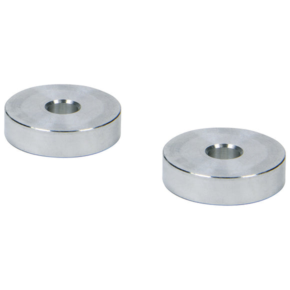 Hourglass Spacers 1/4in ID x 1in OD x 1/4in Long