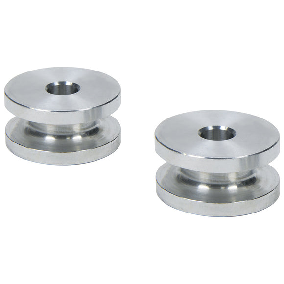 Hourglass Spacers 1/4in ID x 1in OD x 1/2in Long