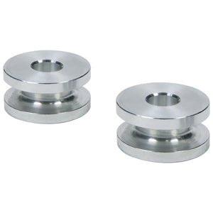Hourglass Spacers 5/16inID x 1inOD x 1/2in