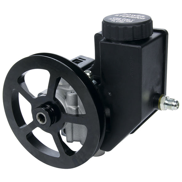 Allstar Power Steering Pump With Pulley And Reservoir