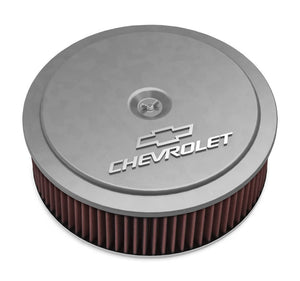 14 x 4 Air Cleaner  GM Muscle Series Natural