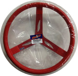 "17"" Steel Red Coated Red Steering Wheel - REB2708676"
