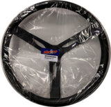 "17"" Steel Black Coated Black Steering Wheel - REB2708715"