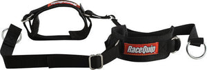 RaceQuip Arm Restraint Harness, Individual Straps, 2 in Wide Cuffs, Black, Pair