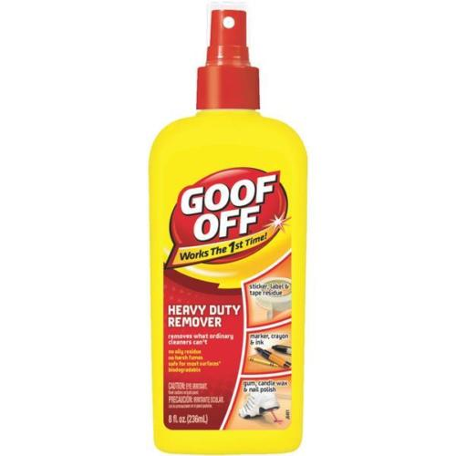 Goof Off Heavy Duty Spot / Stain Cleaner Remover Spray 8 OZ