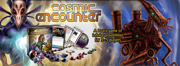 Nerd Spotlight: Nick on Cosmic Encounter