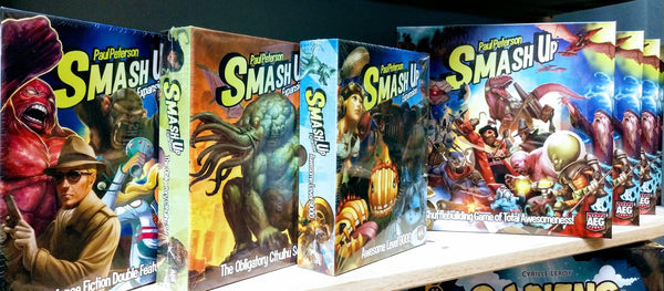SmashUp and expansions