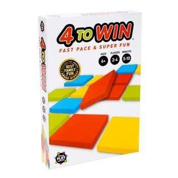 4 To Win Families Play Forever, LLC Board Games