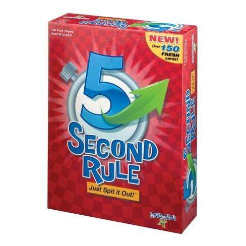 5 Second Rule Alliance Games Board Games