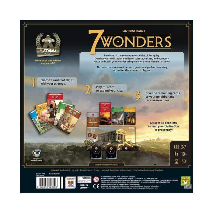 7 Wonders: New Edition Asmodee Board Games