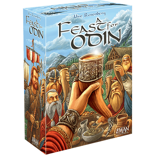 A Feast for Odin Asmodee Board Games