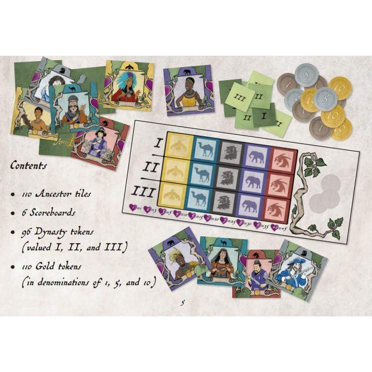 Ancestree Not specified Board Games