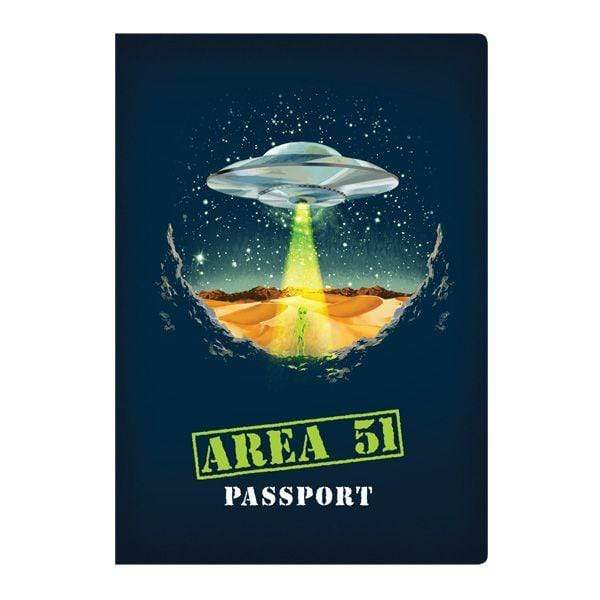 Area 51 Passport Notebook Unemployed Philosophers Guild Paper Products