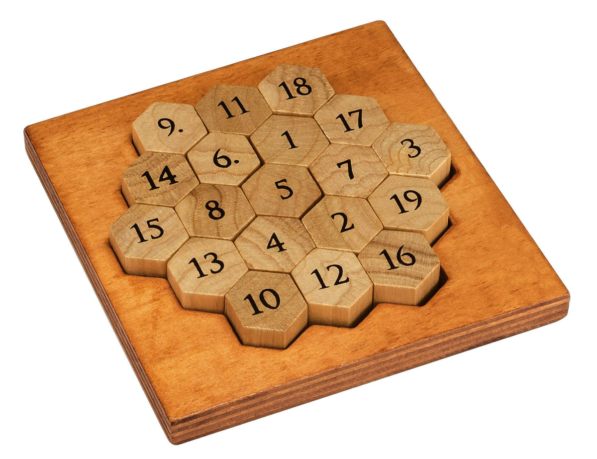 Aristotle's Number Puzzle Professor Puzzle Puzzles/Playthings