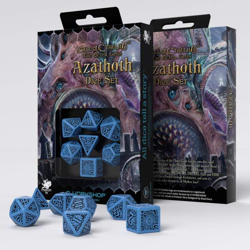 Azathoth dice set-Call Of Cthulhu The Outer Gods Q-Workshop Puzzles/Playthings