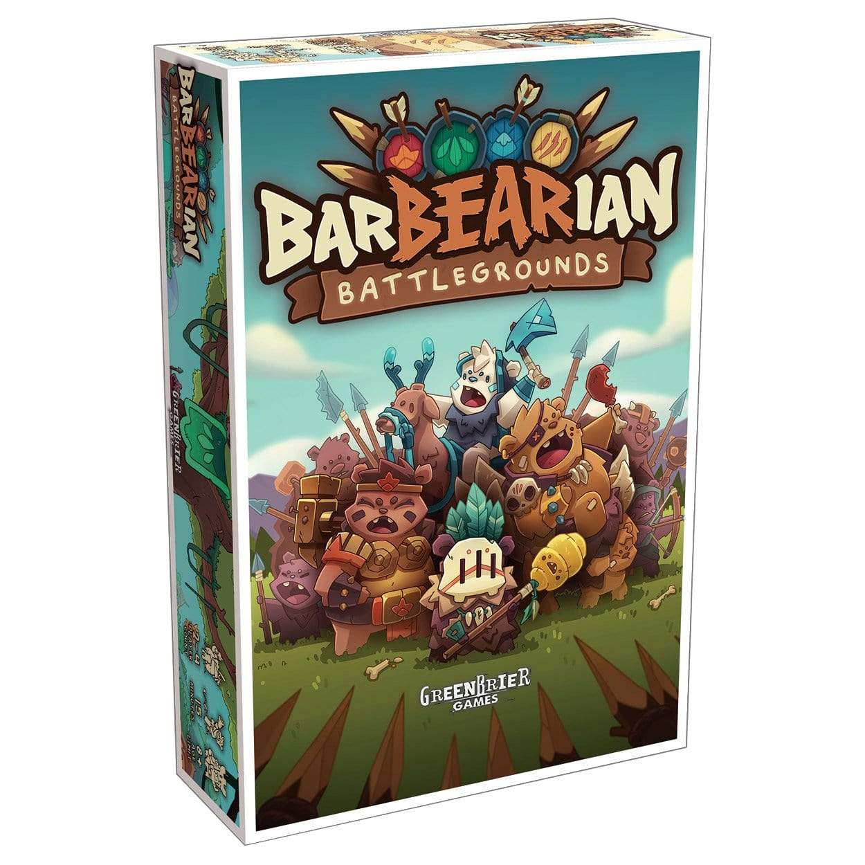 BarBEARian Battlegrounds Alliance Games Board Games