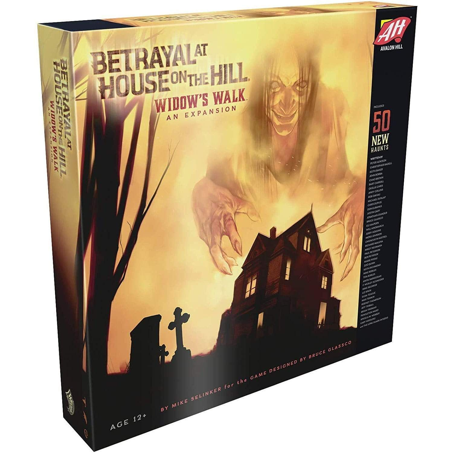 Betrayal At House On The Hill: Widow's Walk Alliance Games Board Games