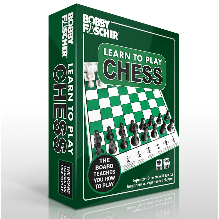 Bobby Fischer Learn to Play Chess set Wood Expressions/We Games Board Games