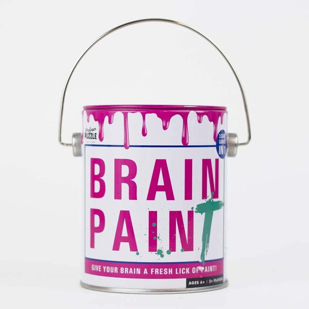 Brain Paint Professor Puzzle Board Games