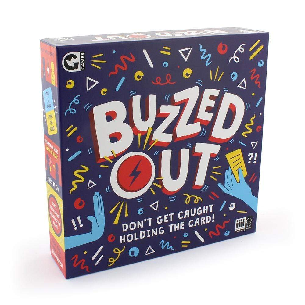 Buzzed Out Ginger Fox Board Games