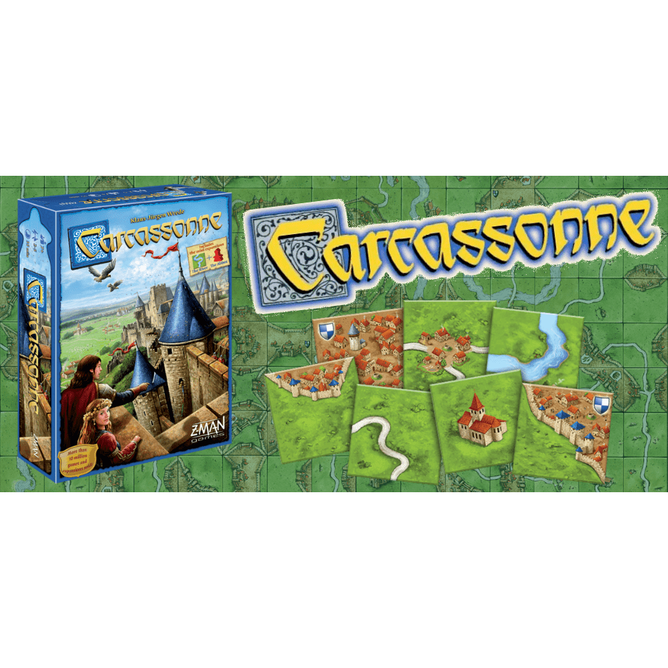 Carcassonne Asmodee Board Games