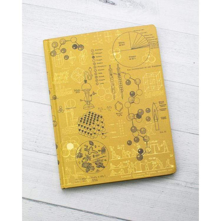 Chemistry Plate 3 Notebook hardcover Cognitive Surplus Paper Products