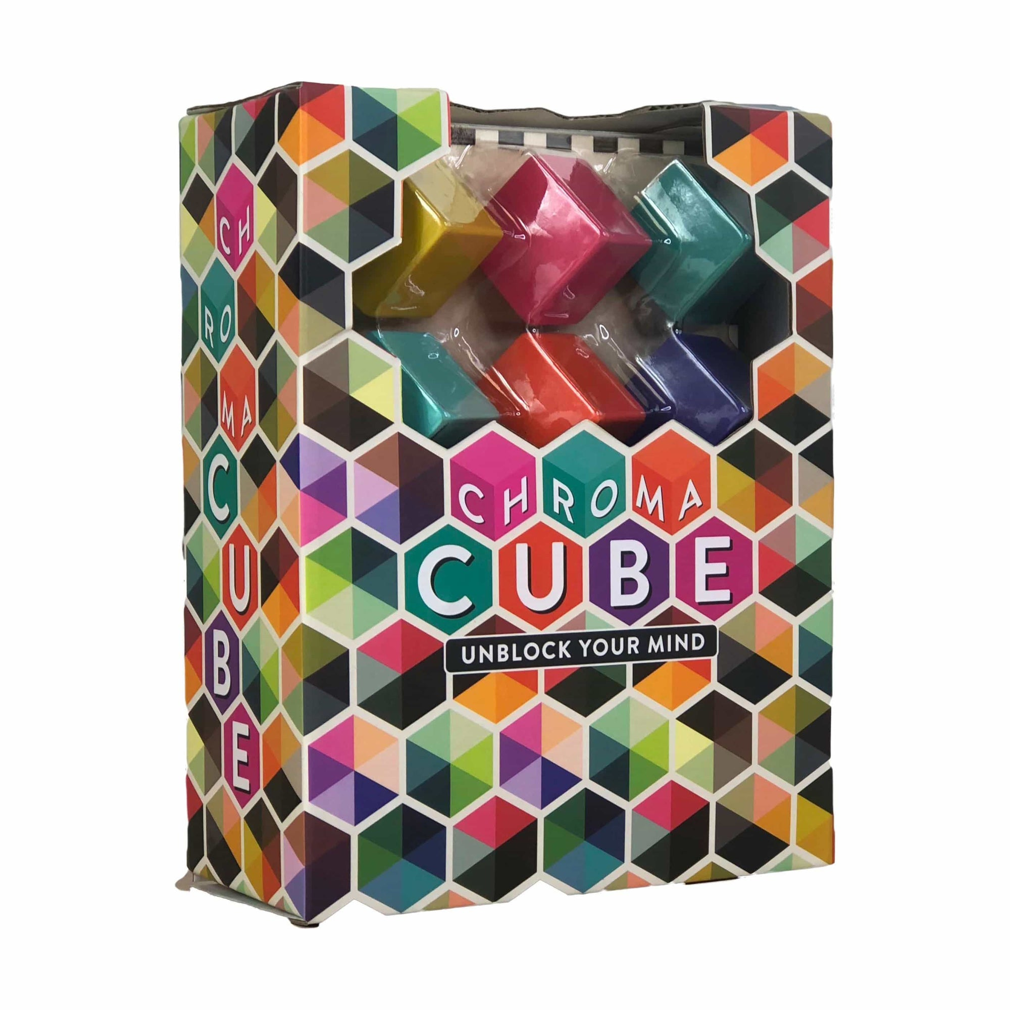 Chroma Cube Project Genius Puzzles/Playthings
