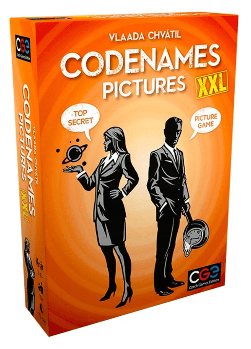 Codenames: Pictures XXL Alliance Games Board Games