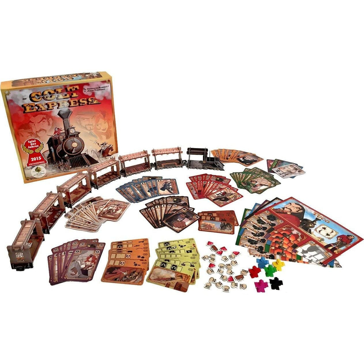 Colt Express Asmodee Board Games