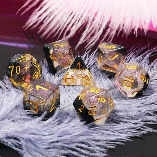 Crystal Ice dice set HD Dice / Hengda Mfg. Puzzles/Playthings