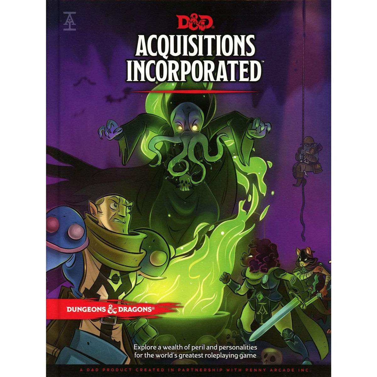 D&D: Acquisitions Incorporated Wizards of the Coast Board Games