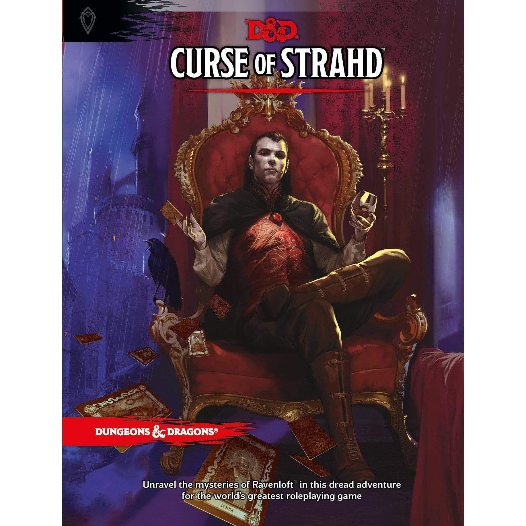 D&D: Curse Of Strahd Wizards of the Coast Board Games
