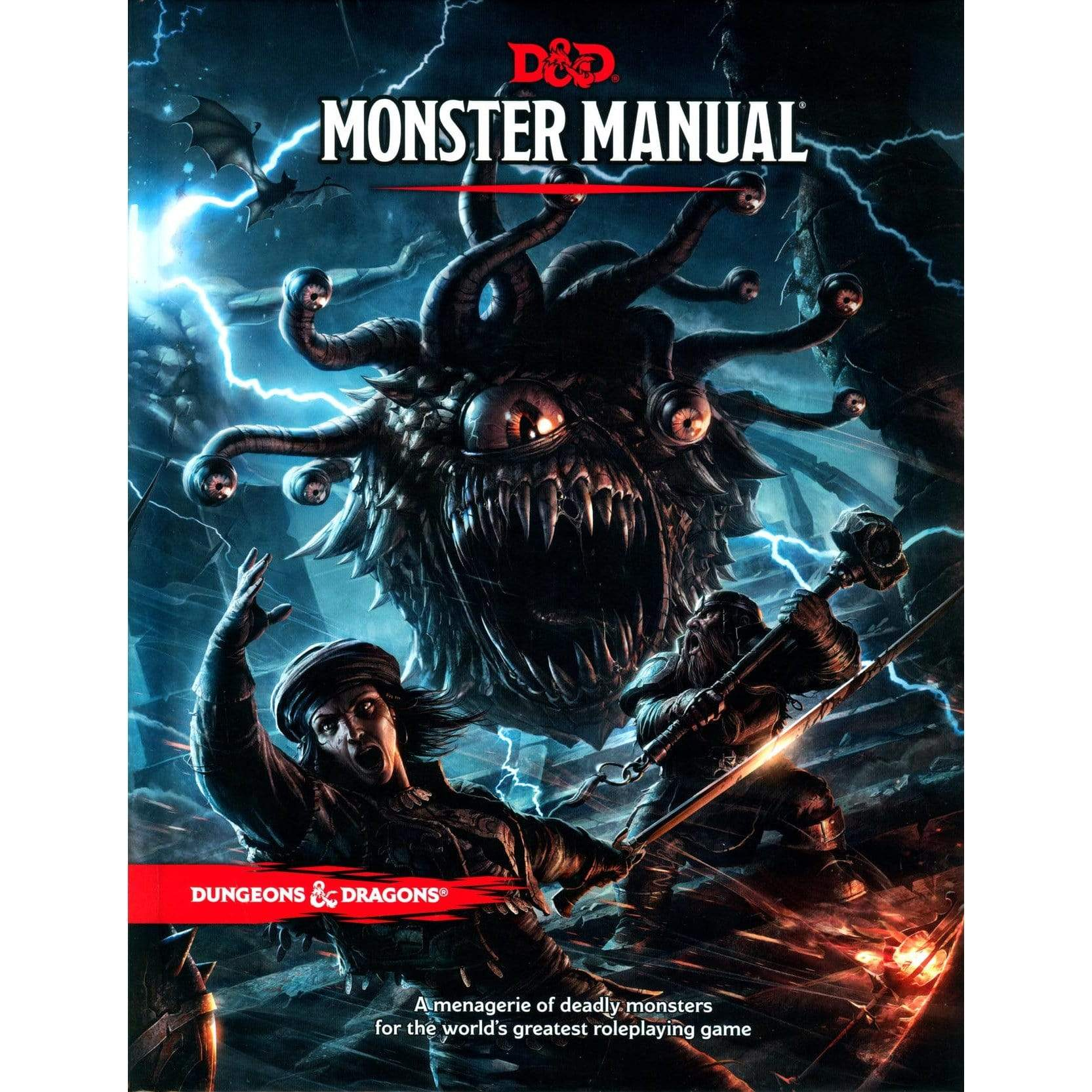 D&D: Monster Manual 5th Edition Wizards of the Coast Board Games