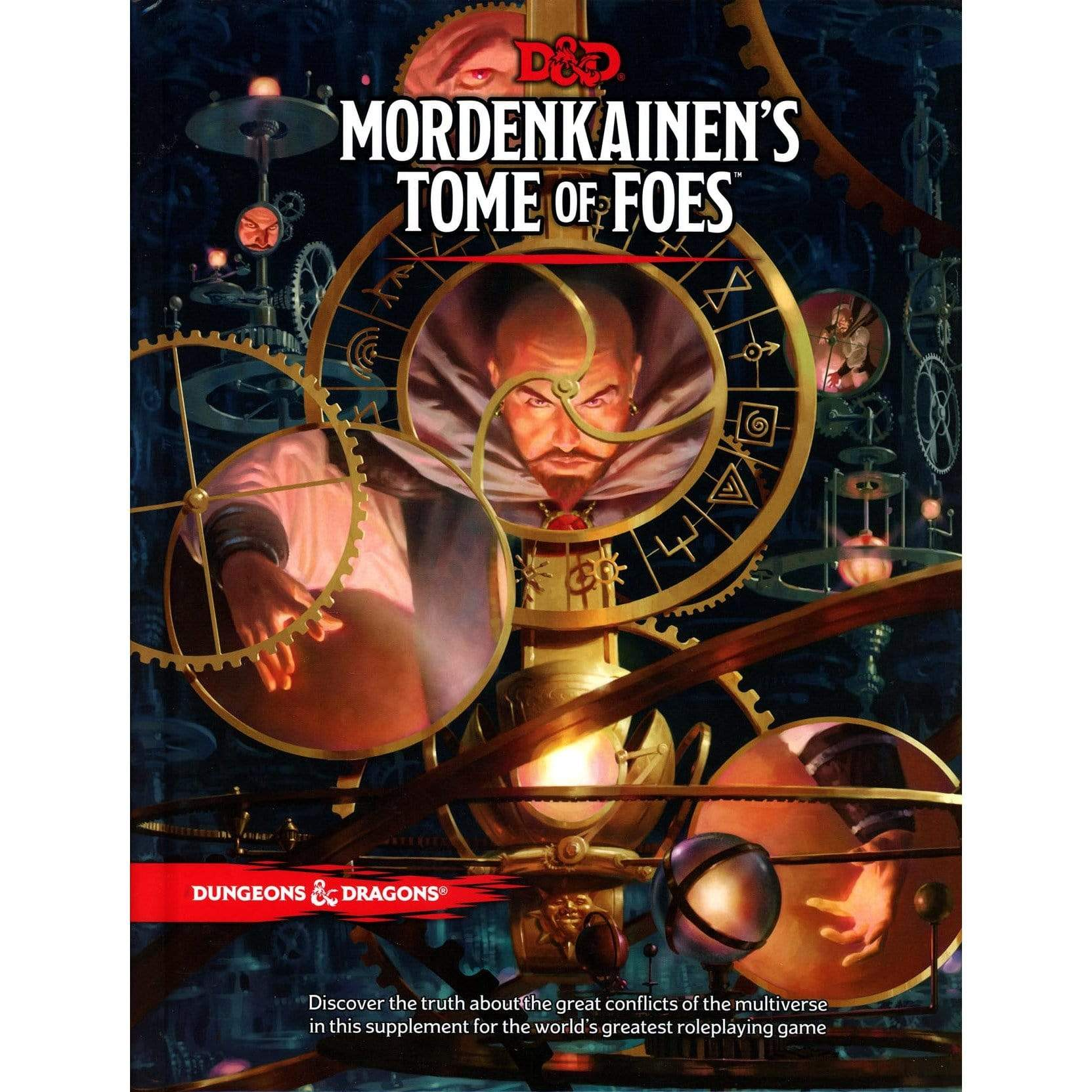 D&D: Mordenkainen's Tome of Foes Wizards of the Coast Board Games