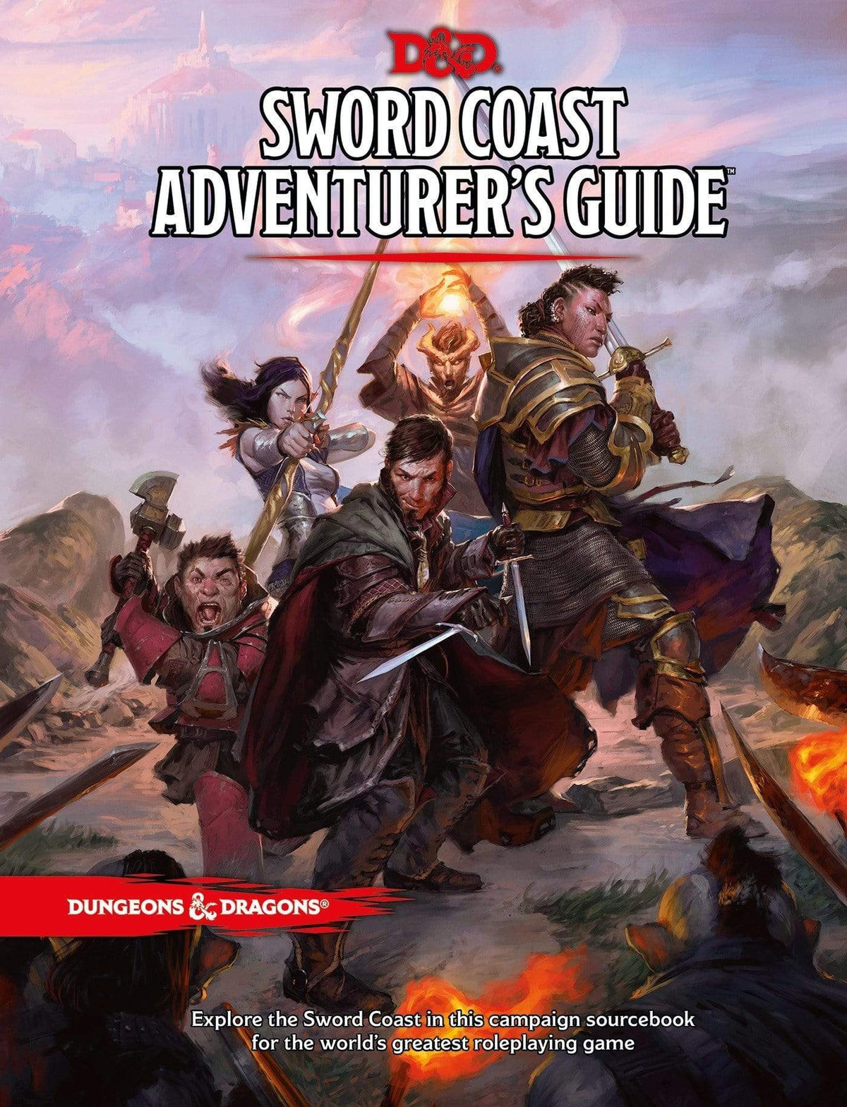 D&D: Sword Coast Adventurer's Guide Wizards of the Coast Board Games