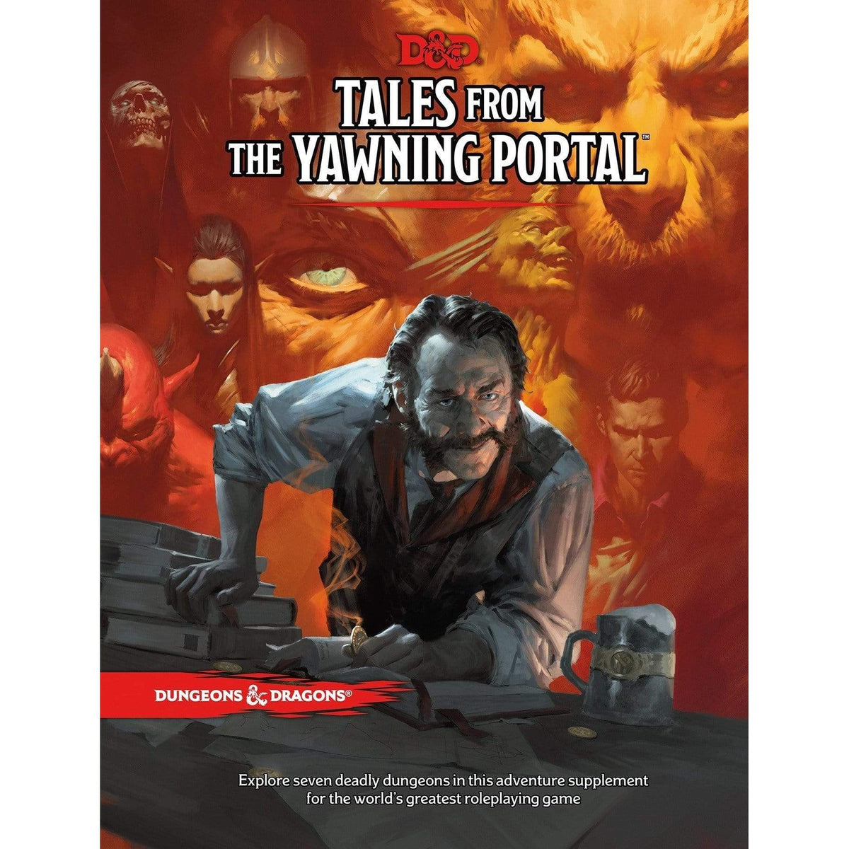 D&D: Tales From The Yawning Portal Wizards of the Coast Board Games