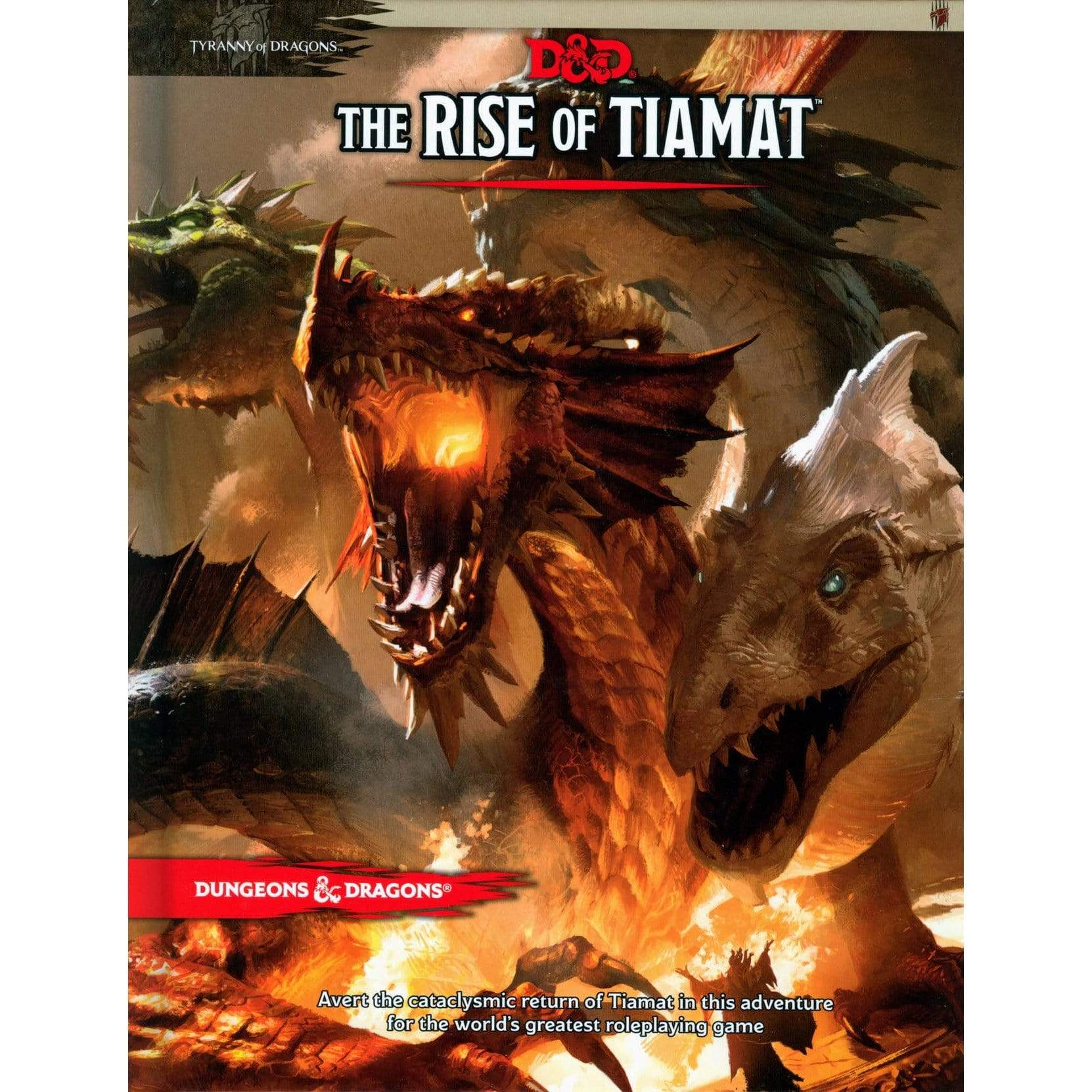 D&D: The Rise Of Tiamat Wizards of the Coast Board Games