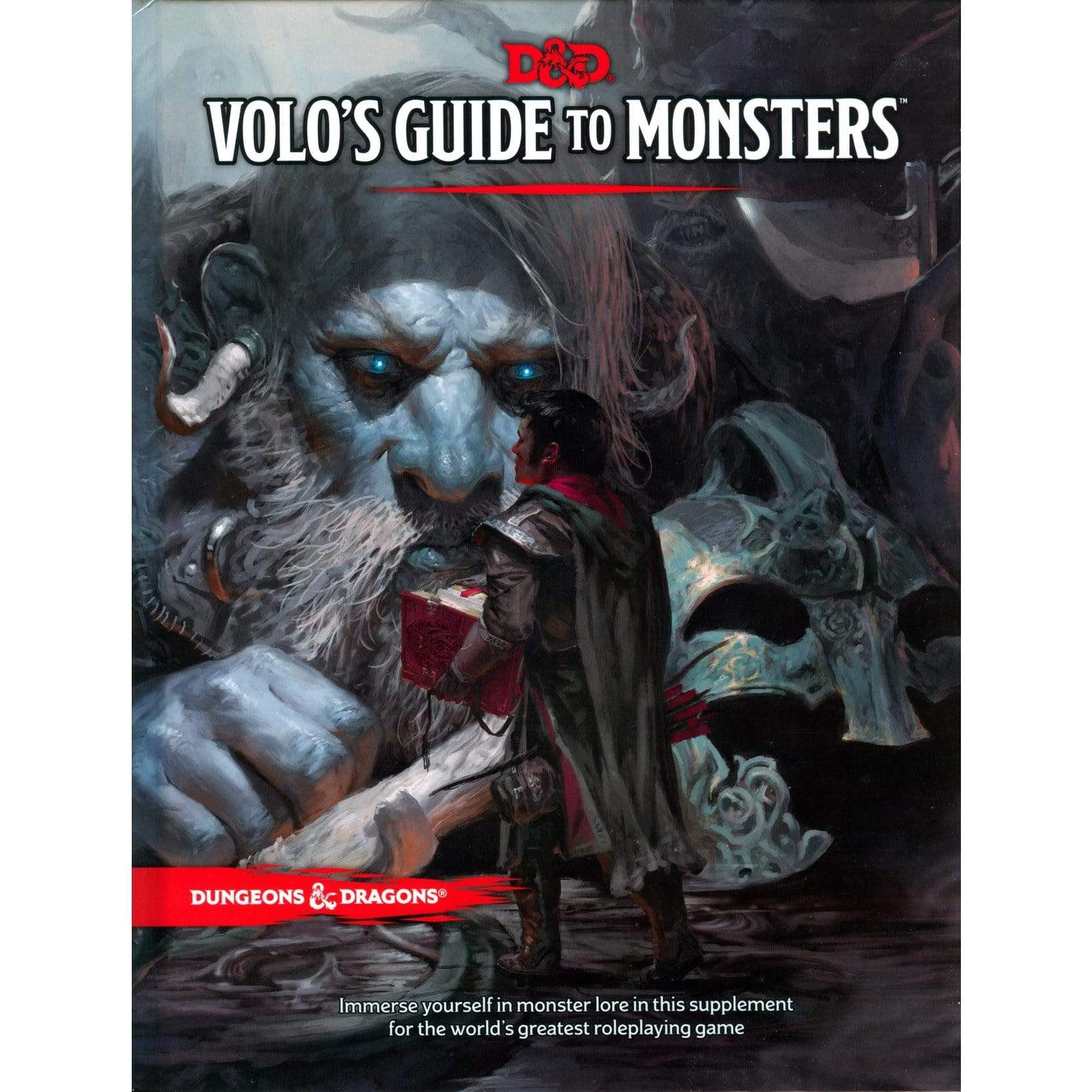 D&D: Volo's Guide To Monsters Wizards of the Coast Board Games