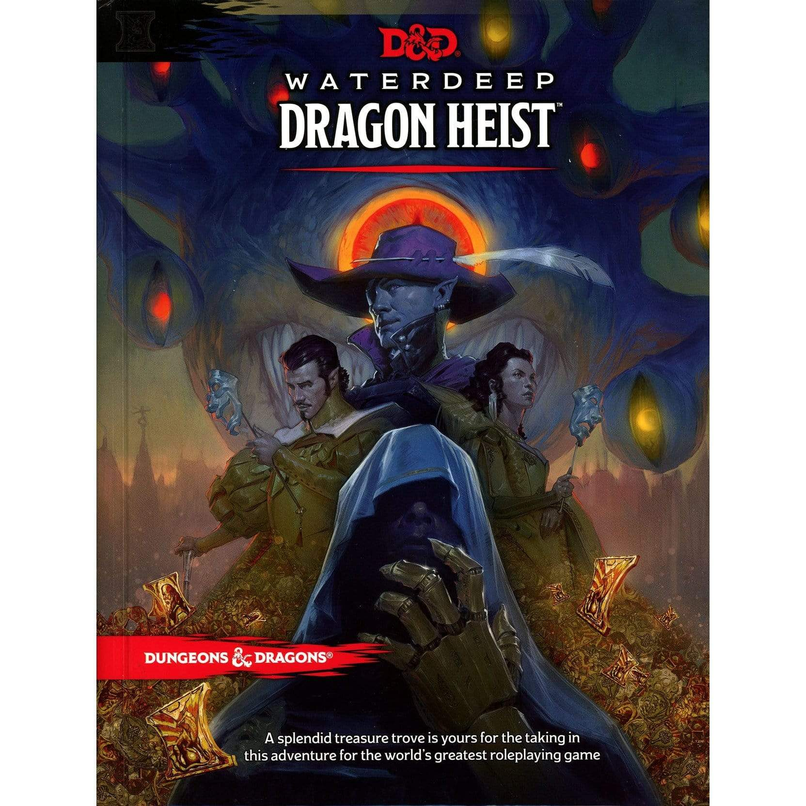 D&D:  Waterdeep Dragon Heist Wizards of the Coast Board Games