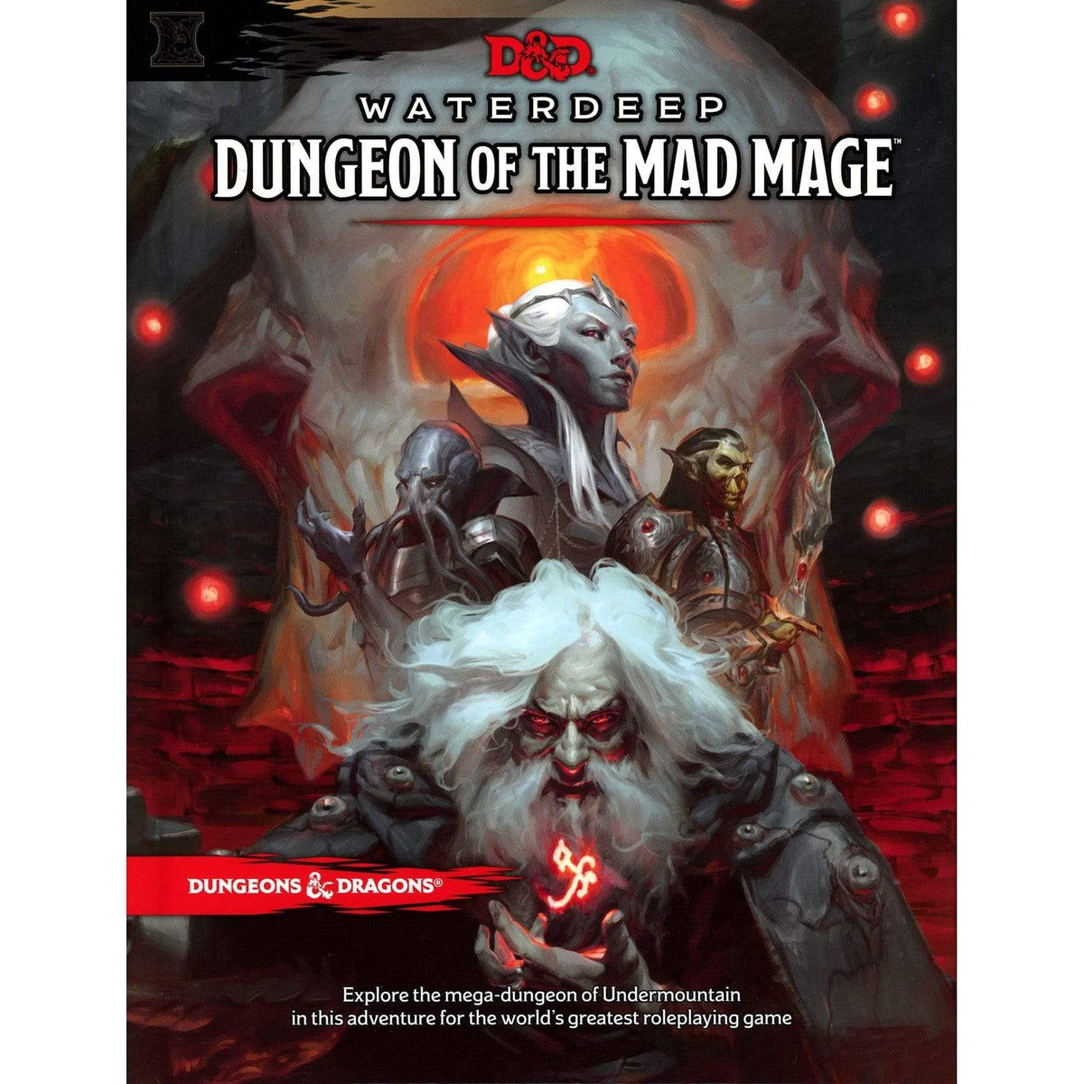 D&D: Waterdeep Dungeon of the Mad Mage Wizards of the Coast Board Games