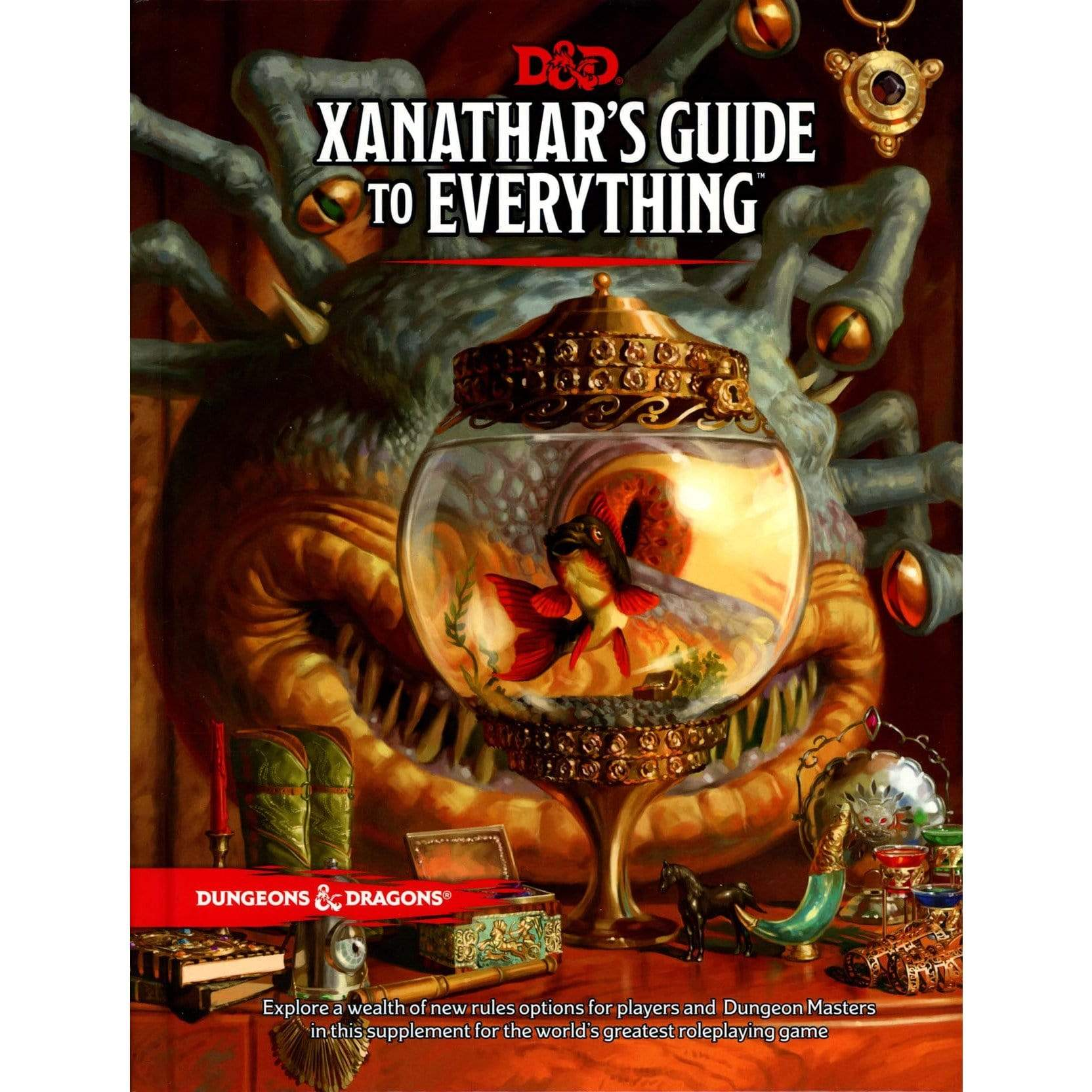 D&D: Xanathar's Guide To Everything Wizards of the Coast Board Games