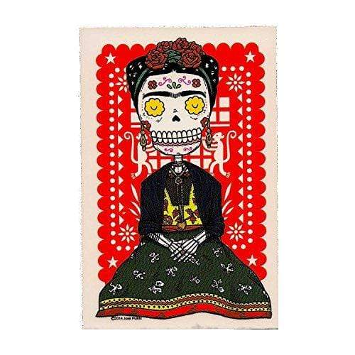 Day of the Dead Sticker: Frida Fresh Prints Of Ct Paper Products