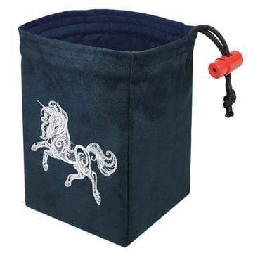 Dice Bag: Baroque Unicorn Red King Company Clothing/Accessories