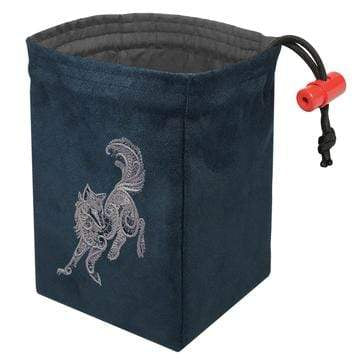 Dice Bag: Baroque Wolf Red King Company Clothing/Accessories