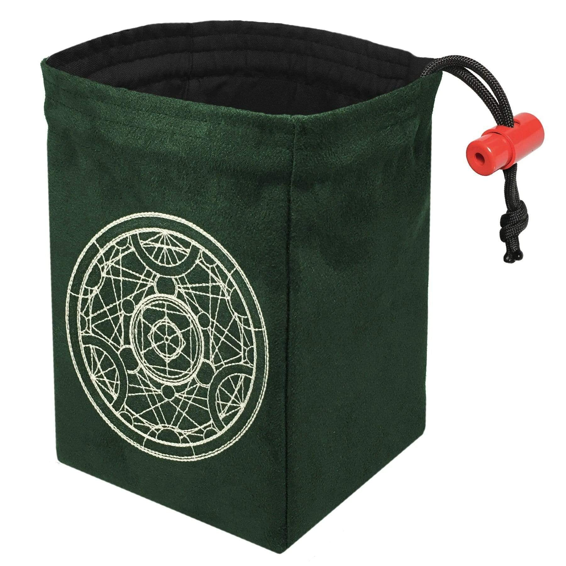 Dice Bag: Glow in the Dark-Alchemy Medallion Red King Company Clothing/Accessories